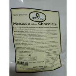 Mousse CHOCOLATE  *Bolsa 1 Kg
